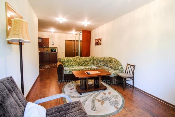 Dviejų kambarių apartamentų nuoma Palangoje - 11