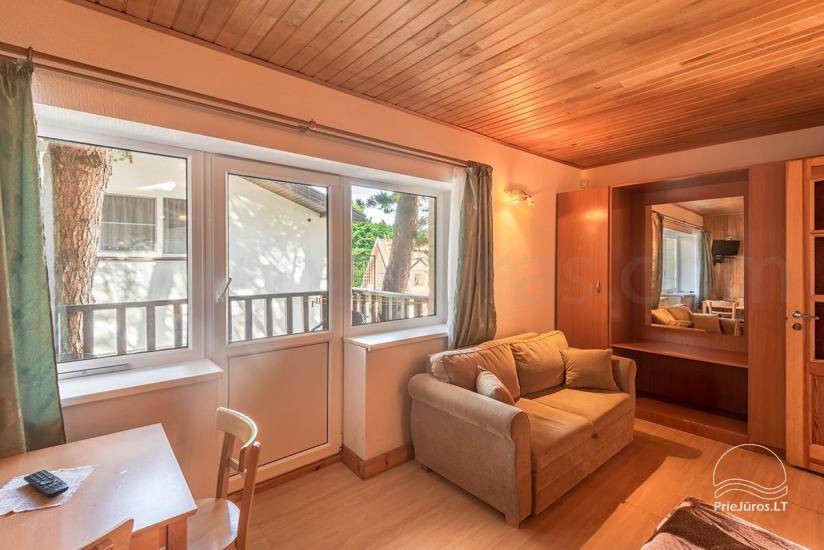Vieno kambario apartamentai su balkonu Nr.121,122