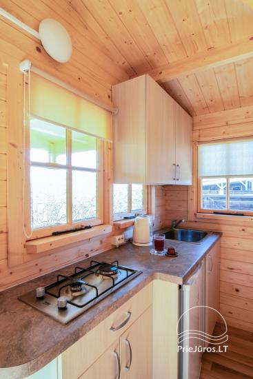 Holiday houses and rooms in Sventoji Gulbes takas - 31