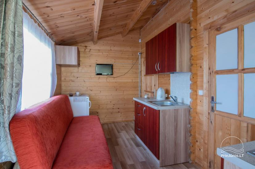 Holiday houses and rooms in Sventoji Gulbes takas - 10