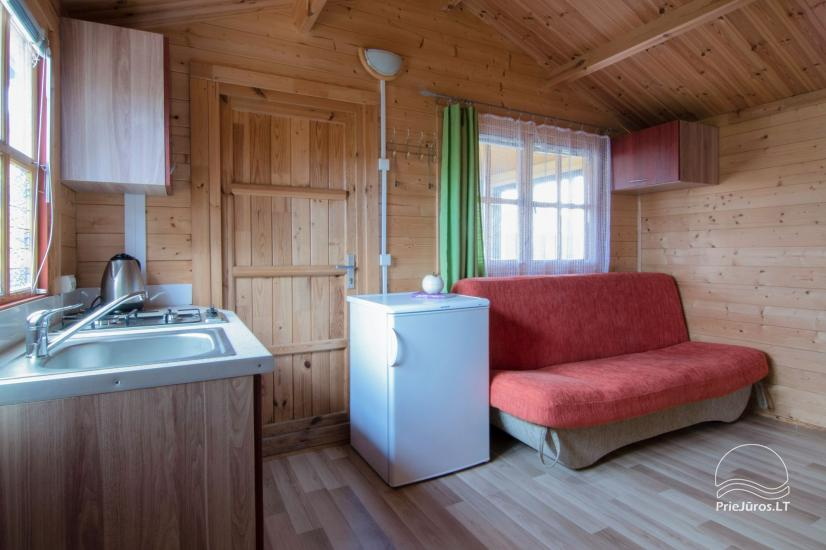 Holiday houses and rooms in Sventoji Gulbes takas - 12