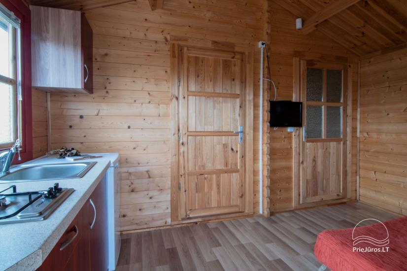 Holiday houses and rooms in Sventoji Gulbes takas - 20