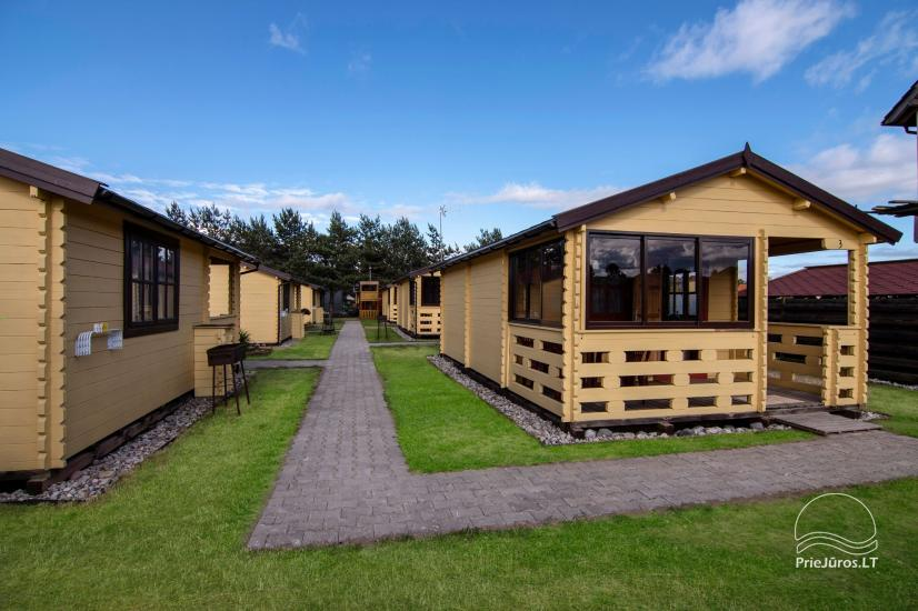 Holiday houses and rooms in Sventoji Gulbes takas - 8