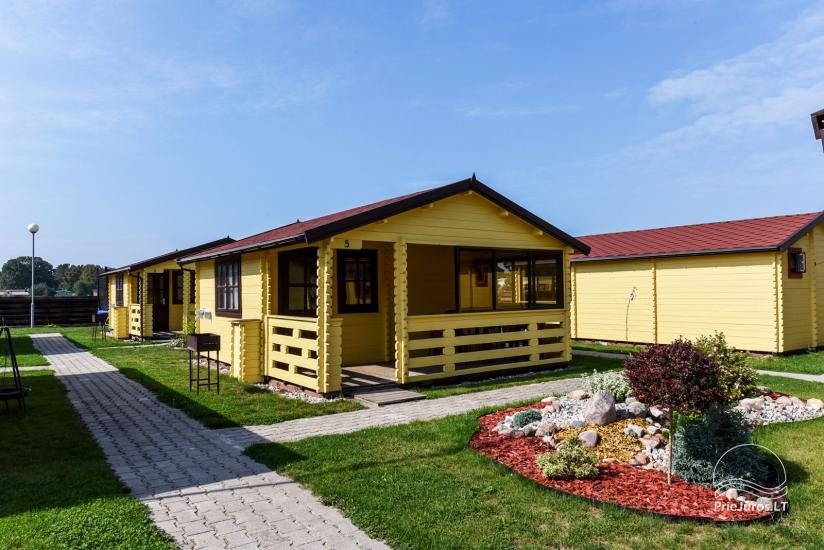 Holiday houses and rooms in Sventoji Gulbes takas - 1