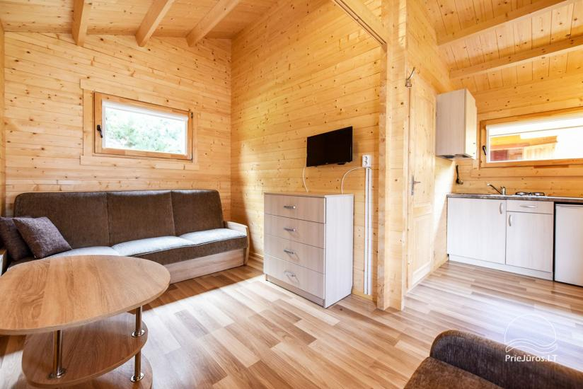 Holiday houses and rooms in Sventoji Gulbes takas - 29