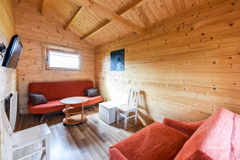 Holiday houses and rooms in Sventoji Gulbes takas - 32