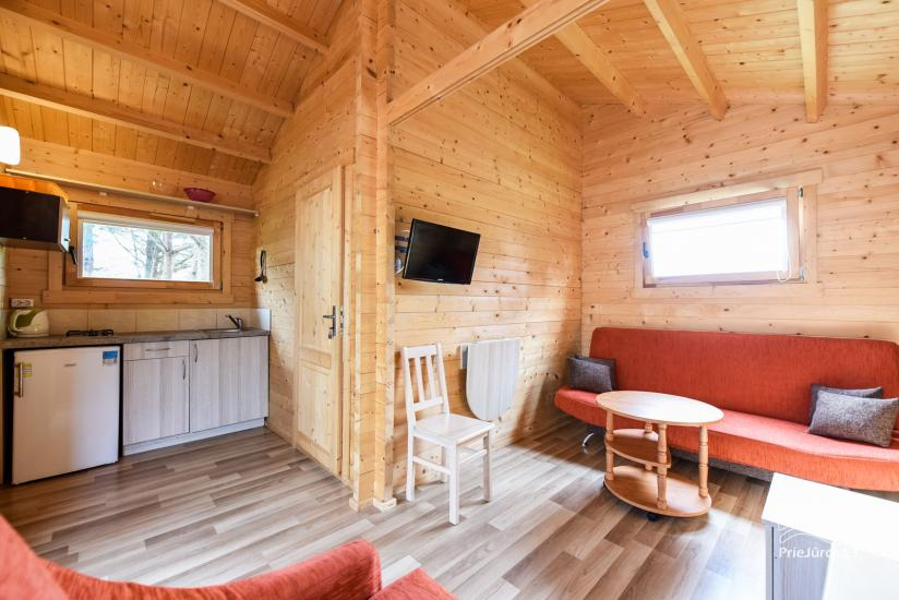 Holiday houses and rooms in Sventoji Gulbes takas - 33