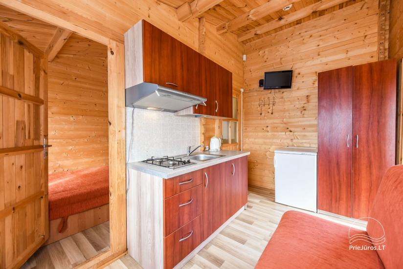 Holiday houses and rooms in Sventoji Gulbes takas - 14