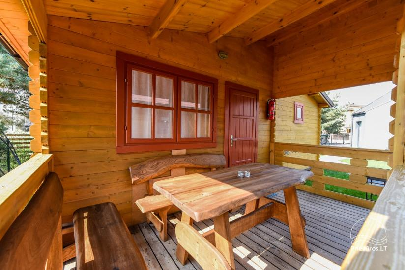Holiday houses and rooms in Sventoji Gulbes takas - 24