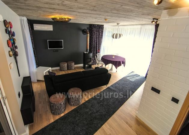 Luxury little house for rent in Kunigiskes. Just 250 meters to the sea! - 3