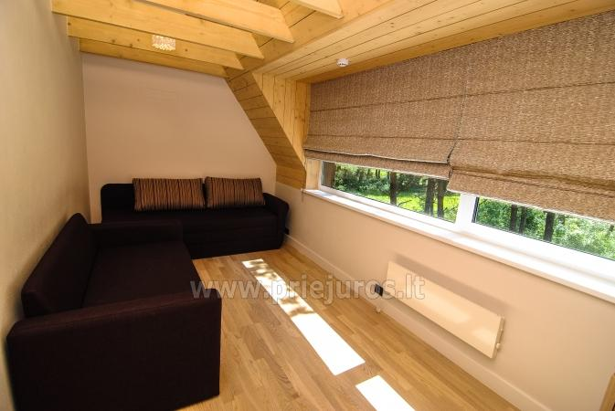 Luxury little house for rent in Kunigiskes. Just 250 meters to the sea! - 7