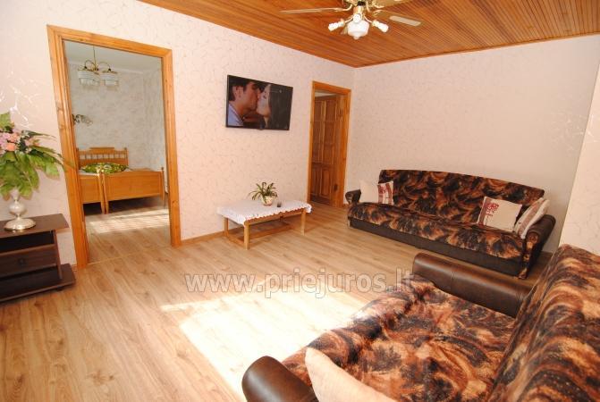 Flat and rooms for rent in Palanga Pas Jolanta