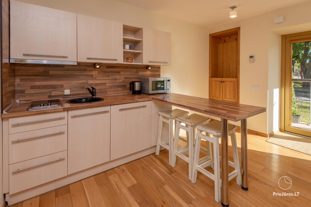 Moderne Zweizimmerwohnung mit großer Terrasse in Kurische Nehrung, Juodkrante - 12