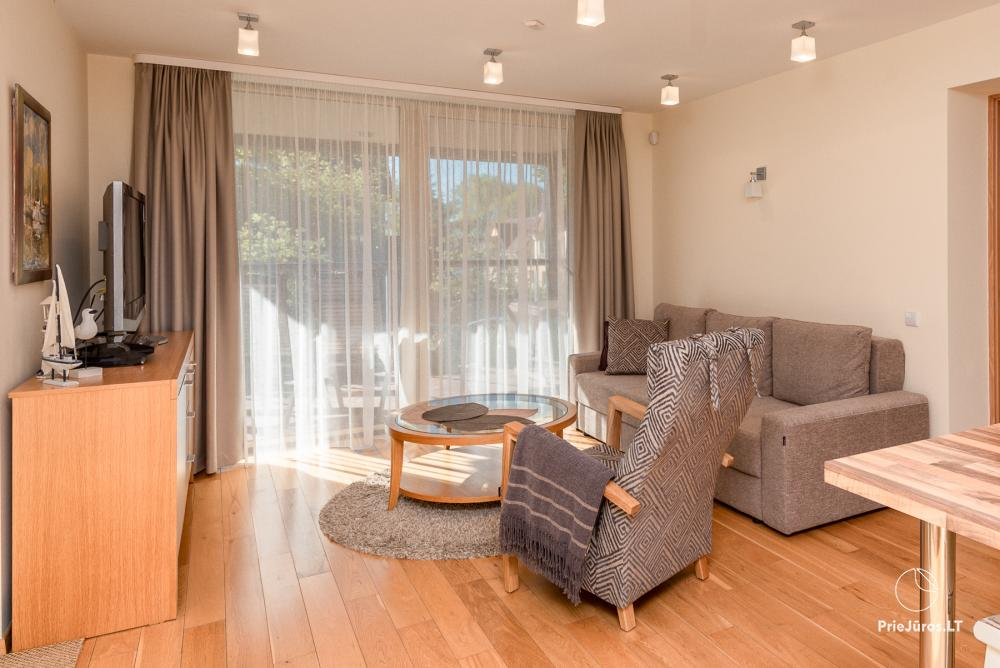 Modern two rooms apartment with large terrace in Curonian Spit, Juodkrante - 9