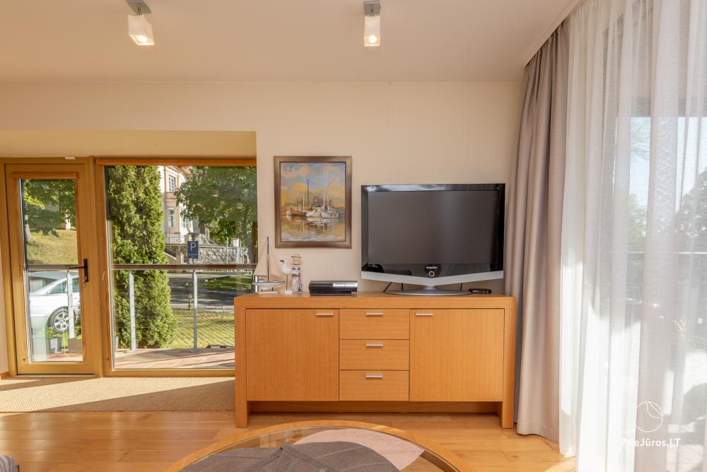 Modern two rooms apartment with large terrace in Curonian Spit, Juodkrante - 11