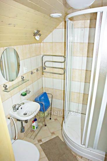 Nuomojamas vieno kambario butas nuosavame name Juodkrantėje - 4