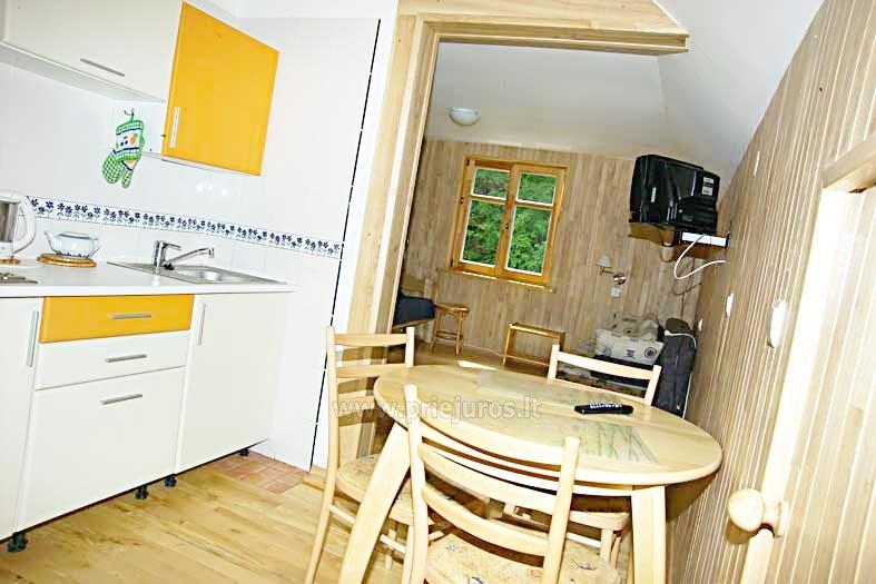 Nuomojamas vieno kambario butas nuosavame name Juodkrantėje - 5