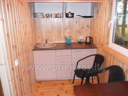 Neue Ferienhütte Elnias ganz in der Nähe des Meeres in Sventoji - 22