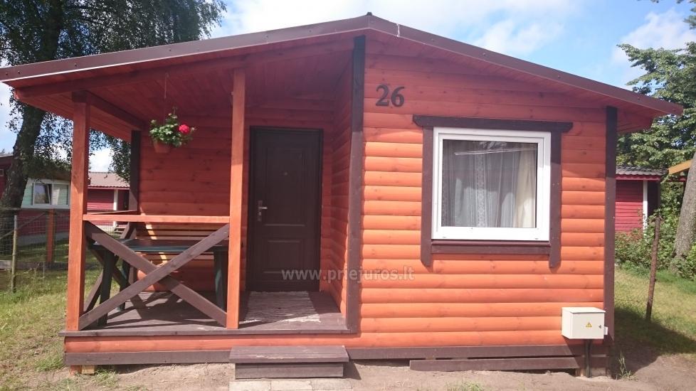 Neue Ferienhütte Elnias ganz in der Nähe des Meeres in Sventoji - 19