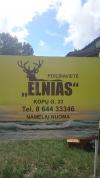 """Nauji nameliai su patogumais prie pat jūros - poilsiavietė """"ELNIAS"""" - 34"""