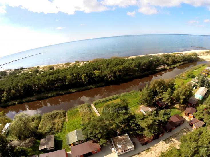 New holiday cottages Elnias very close to the sea in Sventoji