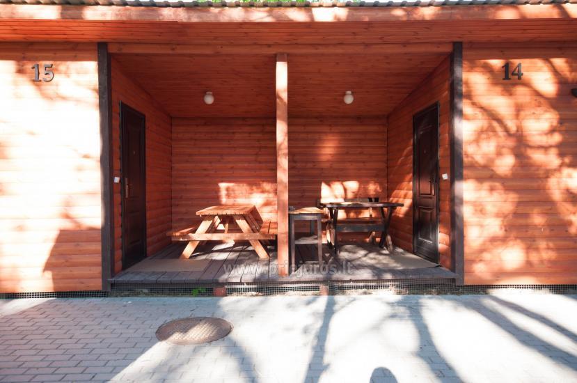 Neue Ferienhütte Elnias ganz in der Nähe des Meeres in Sventoji - 44
