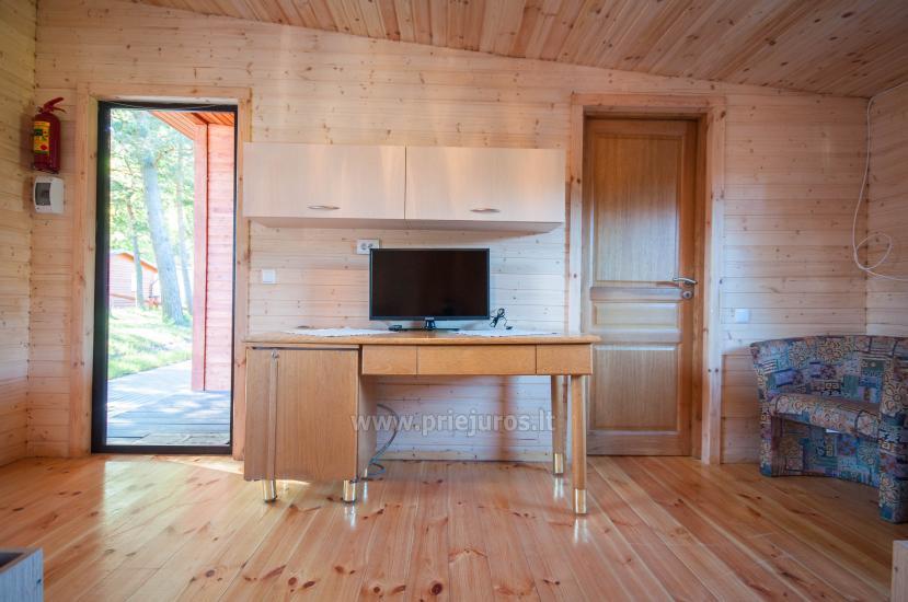 Neue Ferienhütte Elnias ganz in der Nähe des Meeres in Sventoji - 49