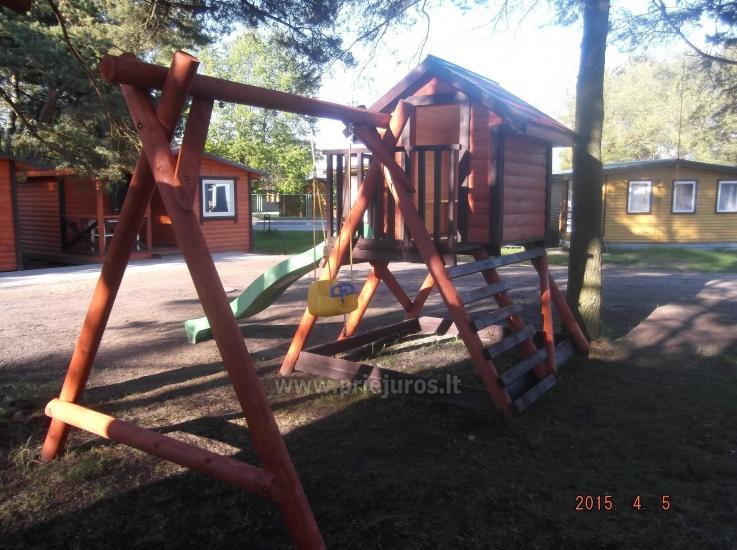 Neue Ferienhütte Elnias ganz in der Nähe des Meeres in Sventoji - 16