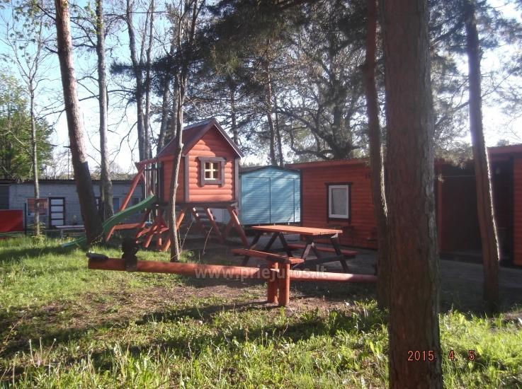 Neue Ferienhütte Elnias ganz in der Nähe des Meeres in Sventoji - 14