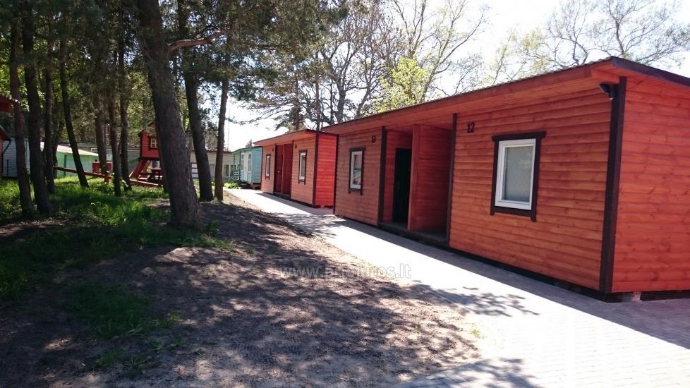 Neue Ferienhütte Elnias ganz in der Nähe des Meeres in Sventoji - 12