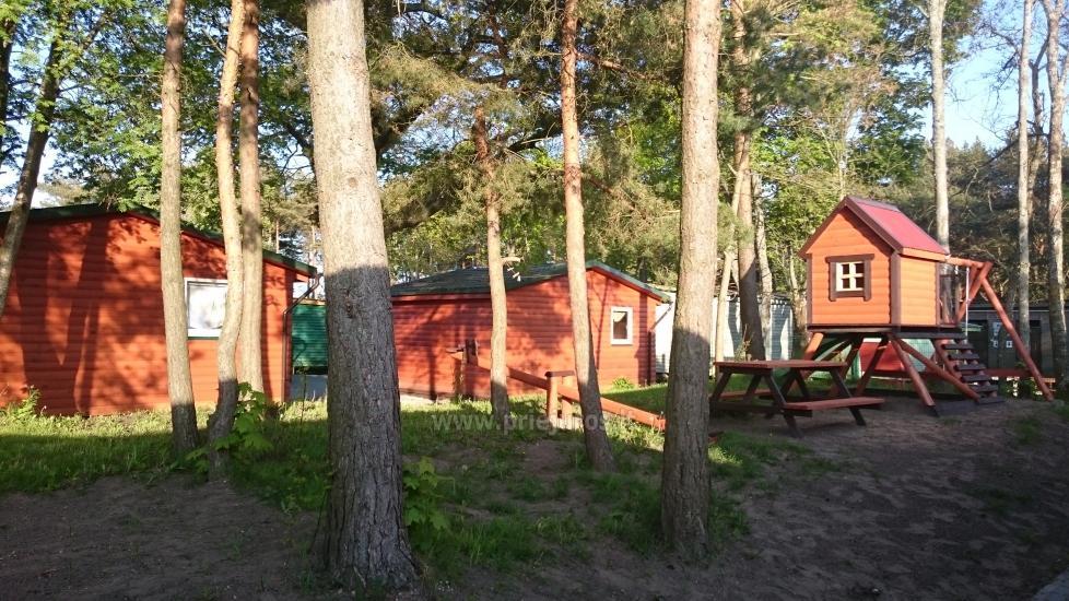 Neue Ferienhütte Elnias ganz in der Nähe des Meeres in Sventoji - 13