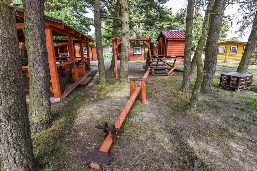New holiday cottages Elnias very close to the sea in Sventoji - 8