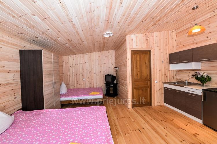 Neue Ferienhütte Elnias ganz in der Nähe des Meeres in Sventoji - 26