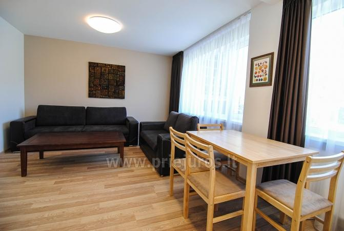 Newly furnished 2 room apartment in the center of Palanga, on the ground floor of a house - 3