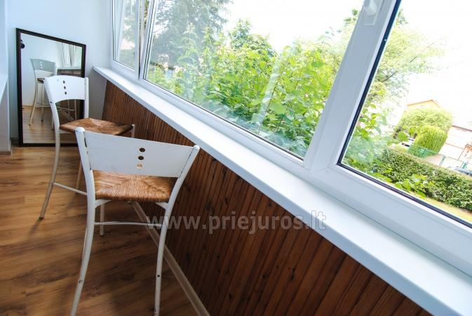 Newly furnished 2 room apartment in the center of Palanga, on the ground floor of a house - 8
