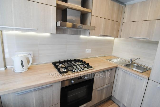 Newly furnished 2 room apartment in the center of Palanga, on the ground floor of a house - 4