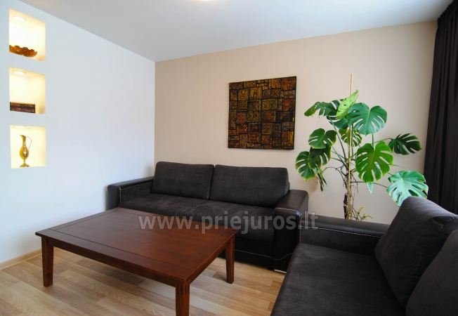 Newly furnished 2 room apartment in the center of Palanga, on the ground floor of a house - 2