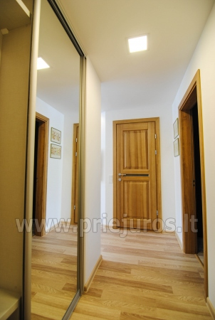 Newly furnished 2 room apartment in the center of Palanga, on the ground floor of a house - 10