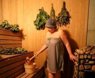 Sauna with bathhouse attendant in Klaipeda