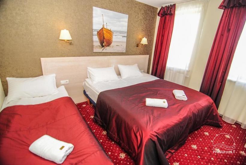 Hotel in Klaipeda Pajurio vieskelis - cosy rooms, sauna, pool - 11