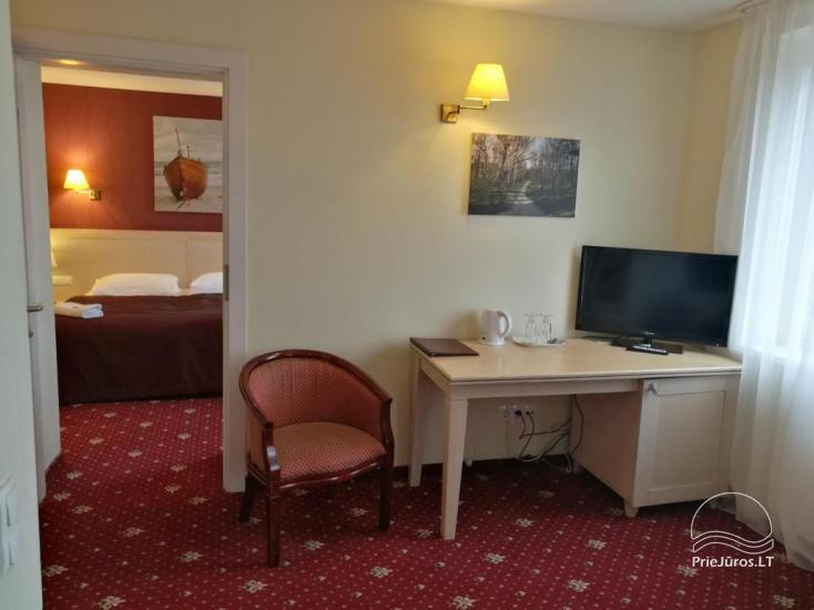 Viešbutis Pajūrio vieškelis - jaukūs kambariai, sauna, baseinas - 6