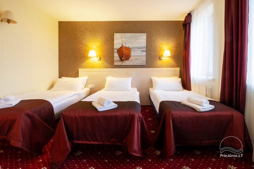 Viešbutis Pajūrio vieškelis - jaukūs kambariai, sauna, baseinas - 12