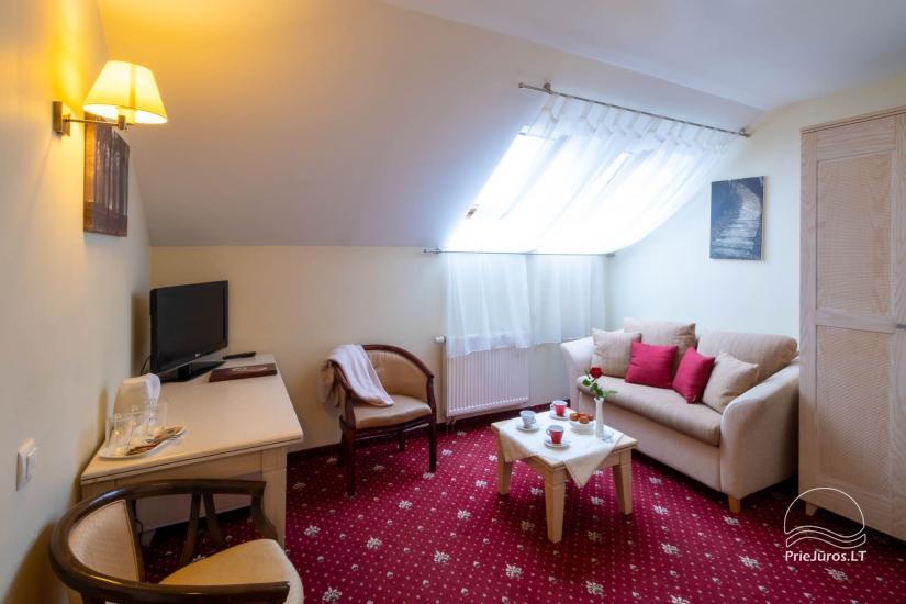 Hotel in Klaipeda Pajurio vieskelis - cosy rooms, sauna, pool - 13