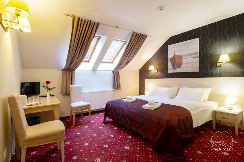 Viešbutis Pajūrio vieškelis - jaukūs kambariai, sauna, baseinas - 10