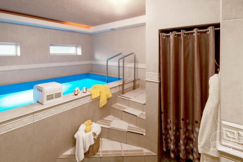 Viešbutis Pajūrio vieškelis - jaukūs kambariai, sauna, baseinas - 31