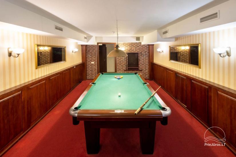 Viešbutis Pajūrio vieškelis - jaukūs kambariai, sauna, baseinas - 29