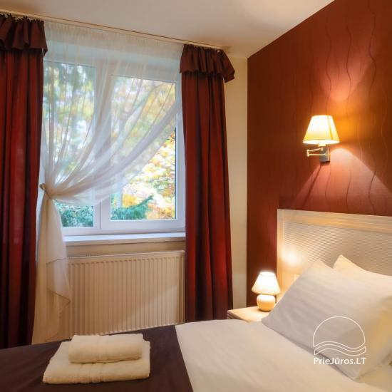 Viešbutis Pajūrio vieškelis - jaukūs kambariai, sauna, baseinas - 17