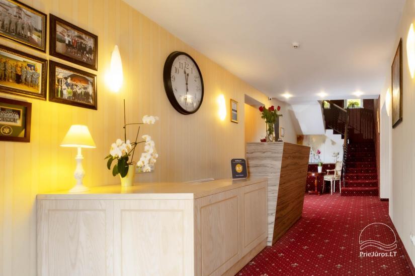 Hotel in Klaipeda Pajurio vieskelis - cosy rooms, sauna, pool - 4
