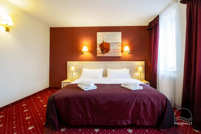 Hotel in Klaipeda Pajurio vieskelis - cosy rooms, sauna, pool - 1