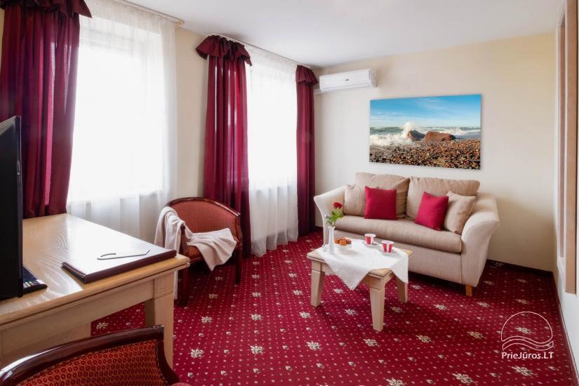 Viešbutis Pajūrio vieškelis - jaukūs kambariai, sauna, baseinas - 7